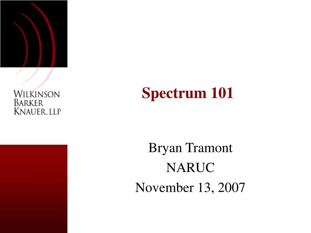 spectrum 101 l.