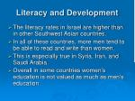 literacy and development1