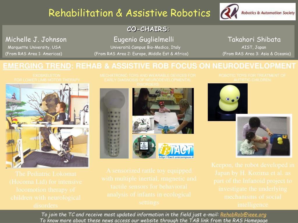 Rehabilitation & Assistive Robotics