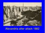 alexandria after attack 1882