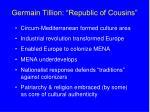germain tillion republic of cousins