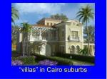 villas in cairo suburbs