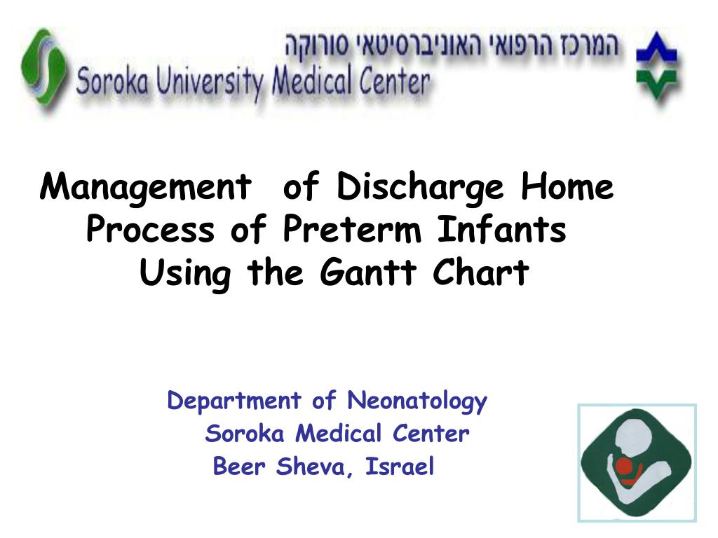 management of discharge home process of preterm infants using the gantt chart l.