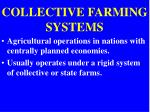 collective farming systems