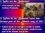 1 who are the bedouins