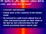 10 who is ibn battuta where did he visit and what did he learn46