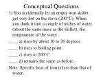 conceptual questions13