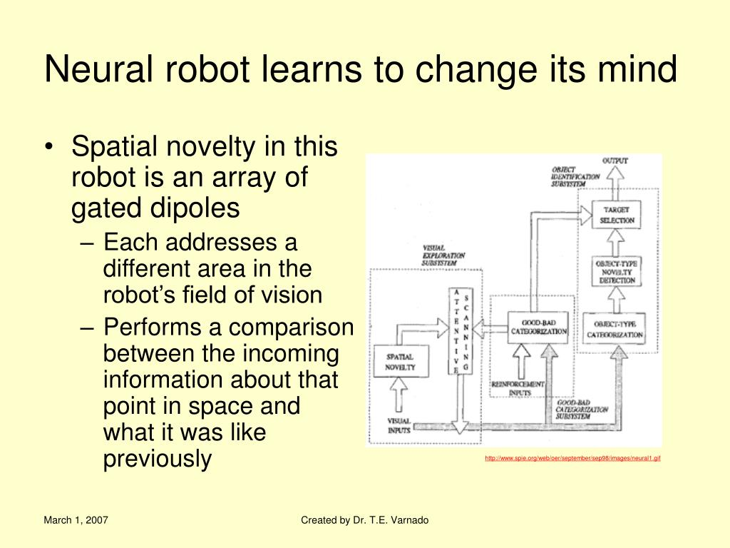 Neural robot learns to change its mind