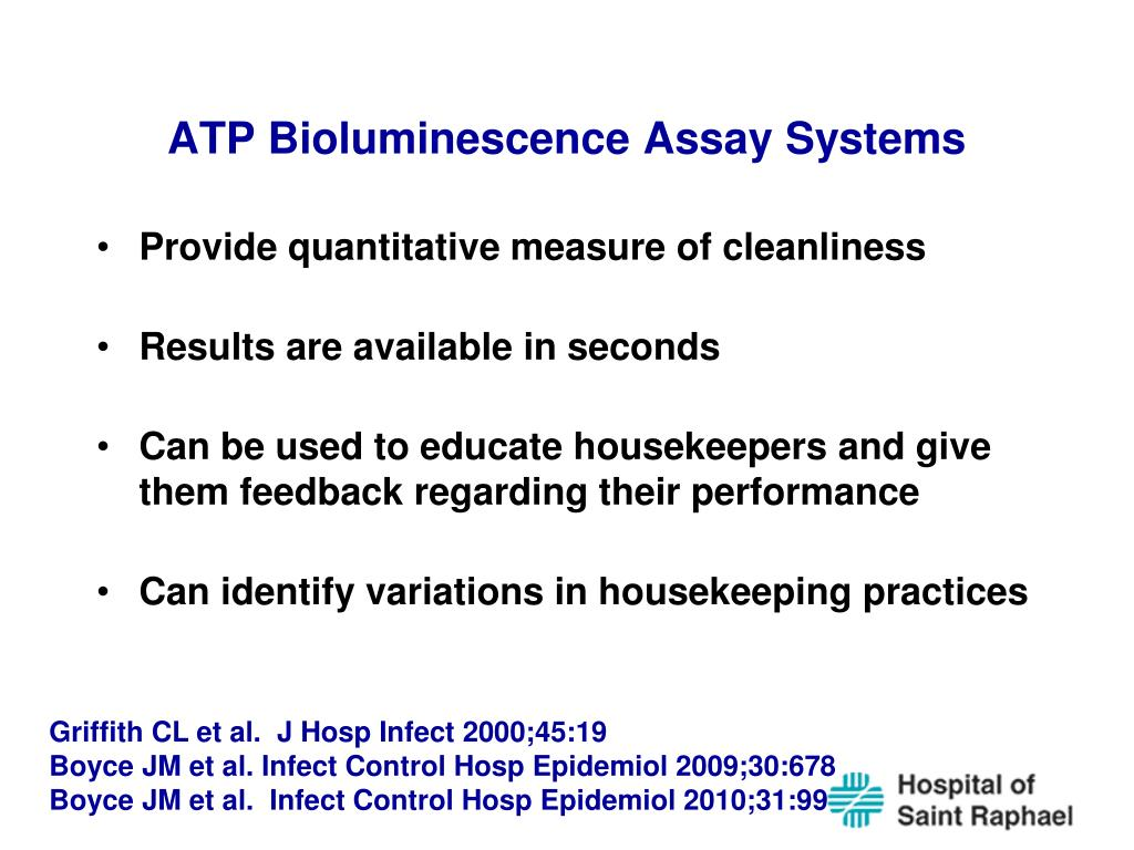 ATP Bioluminescence Assay Systems