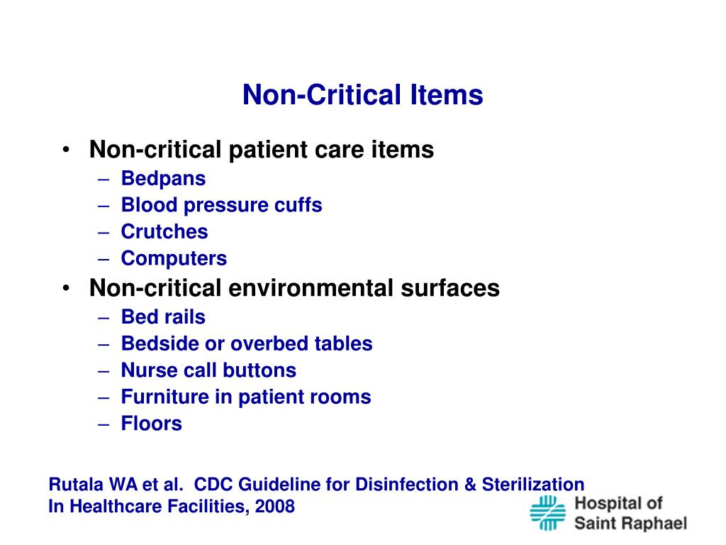 Non-Critical Items