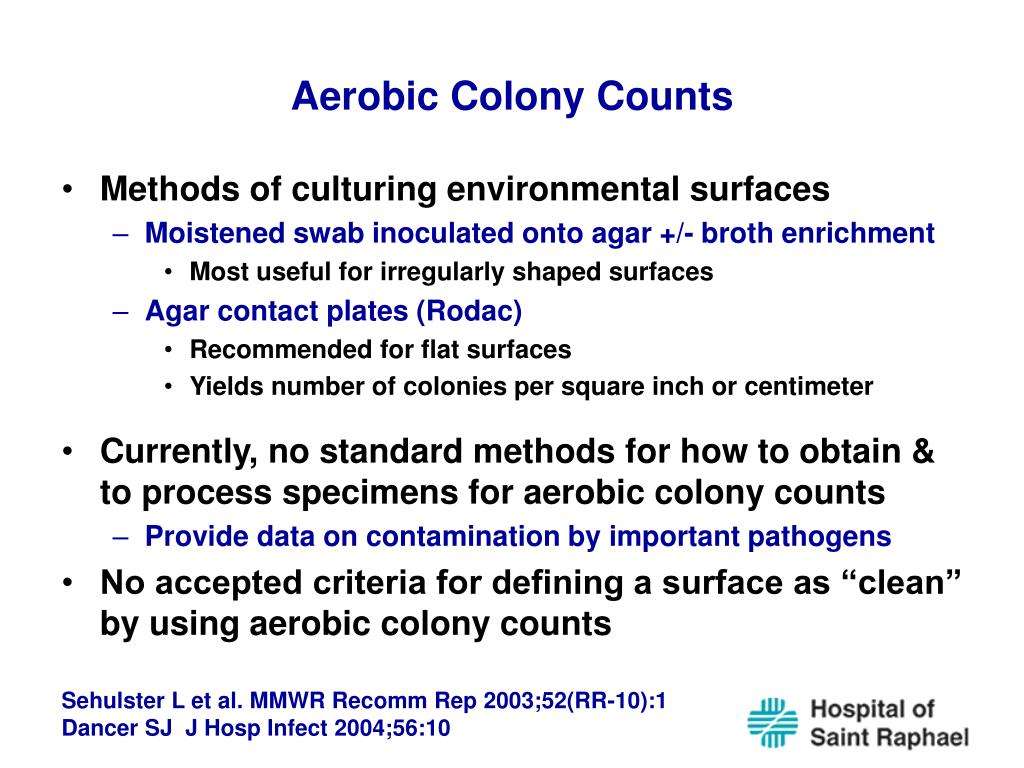 Aerobic Colony Counts