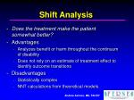 shift analysis31