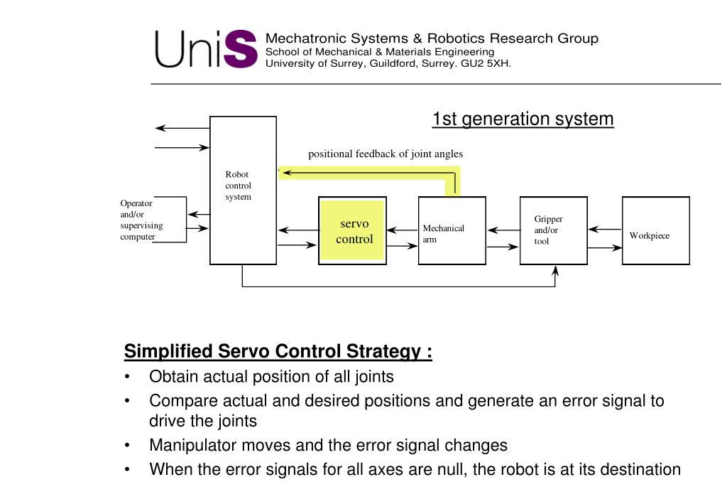 1st generation system