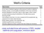 well s criteria