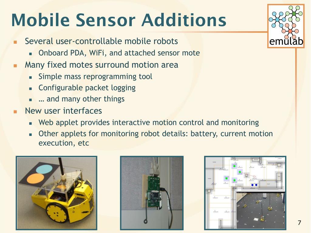 Mobile Sensor Additions