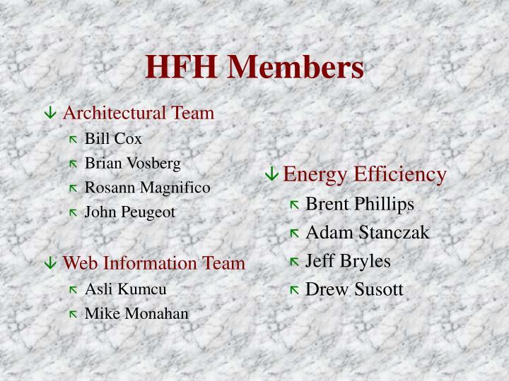 Hfh members