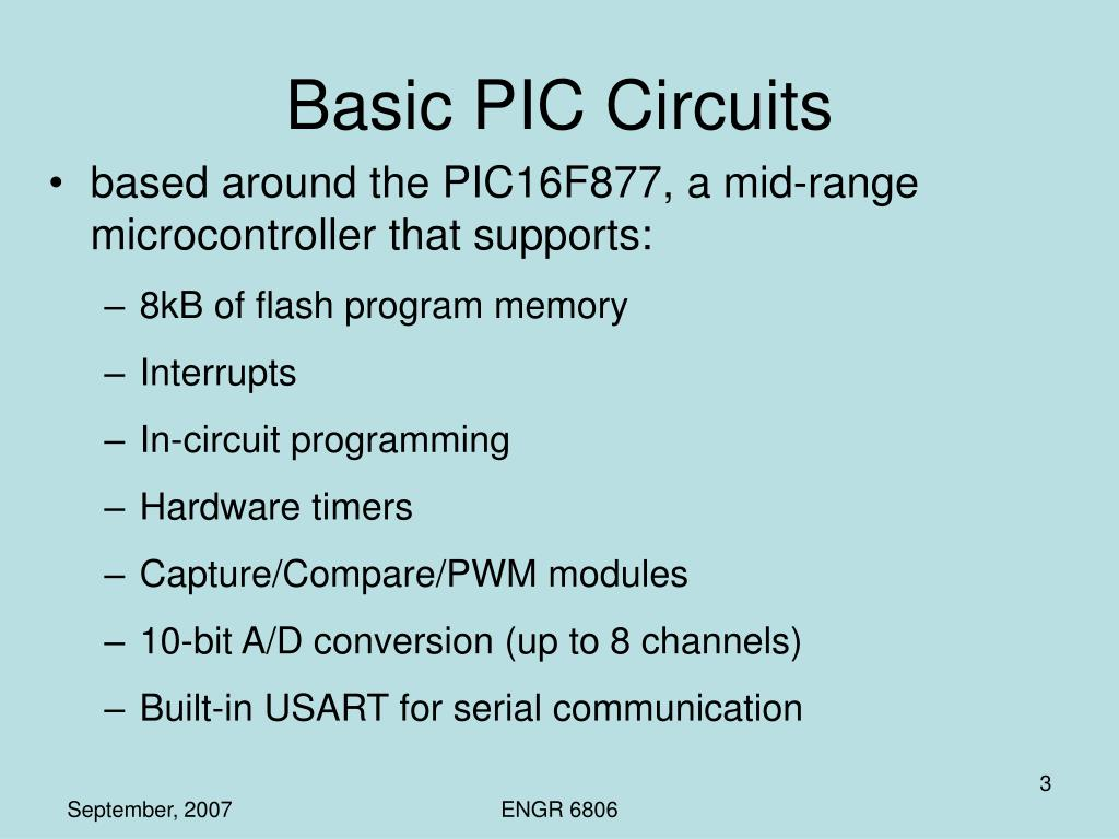 Basic PIC Circuits