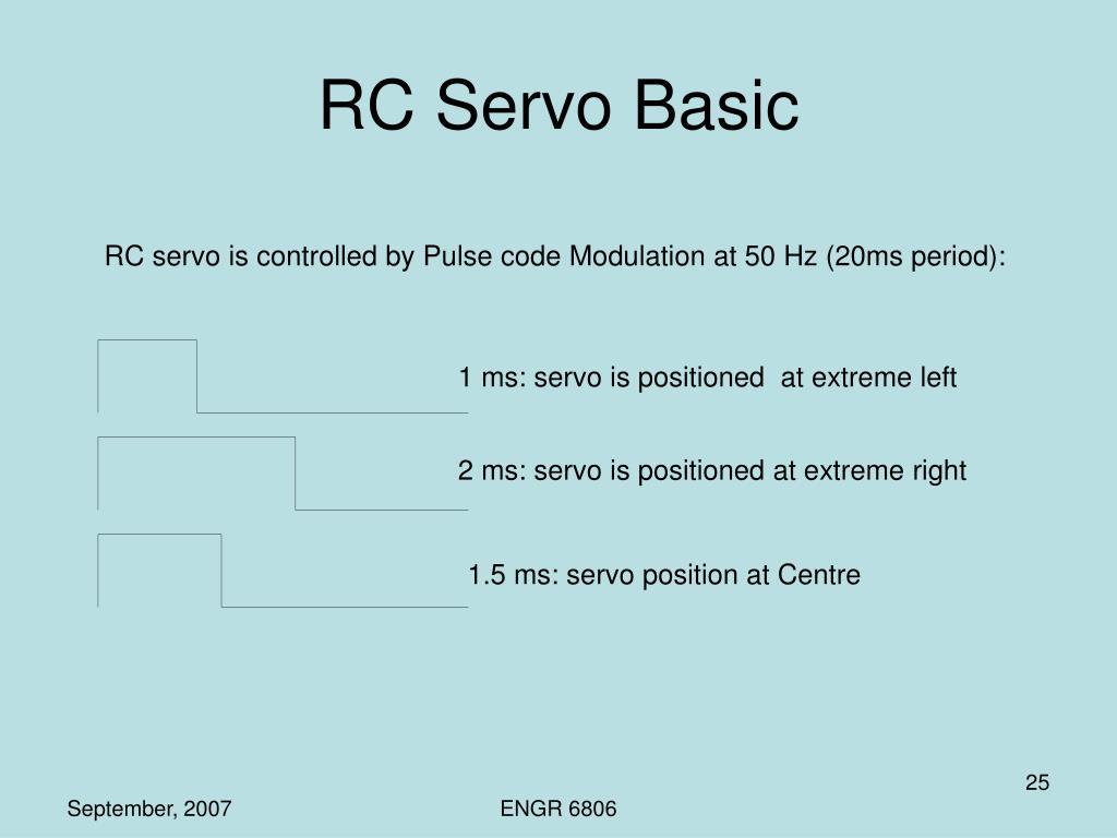 RC Servo Basic