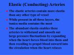 elastic conducting arteries14