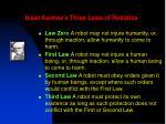 isaac asimov s three laws of robotics