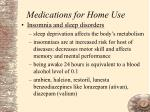 medications for home use81