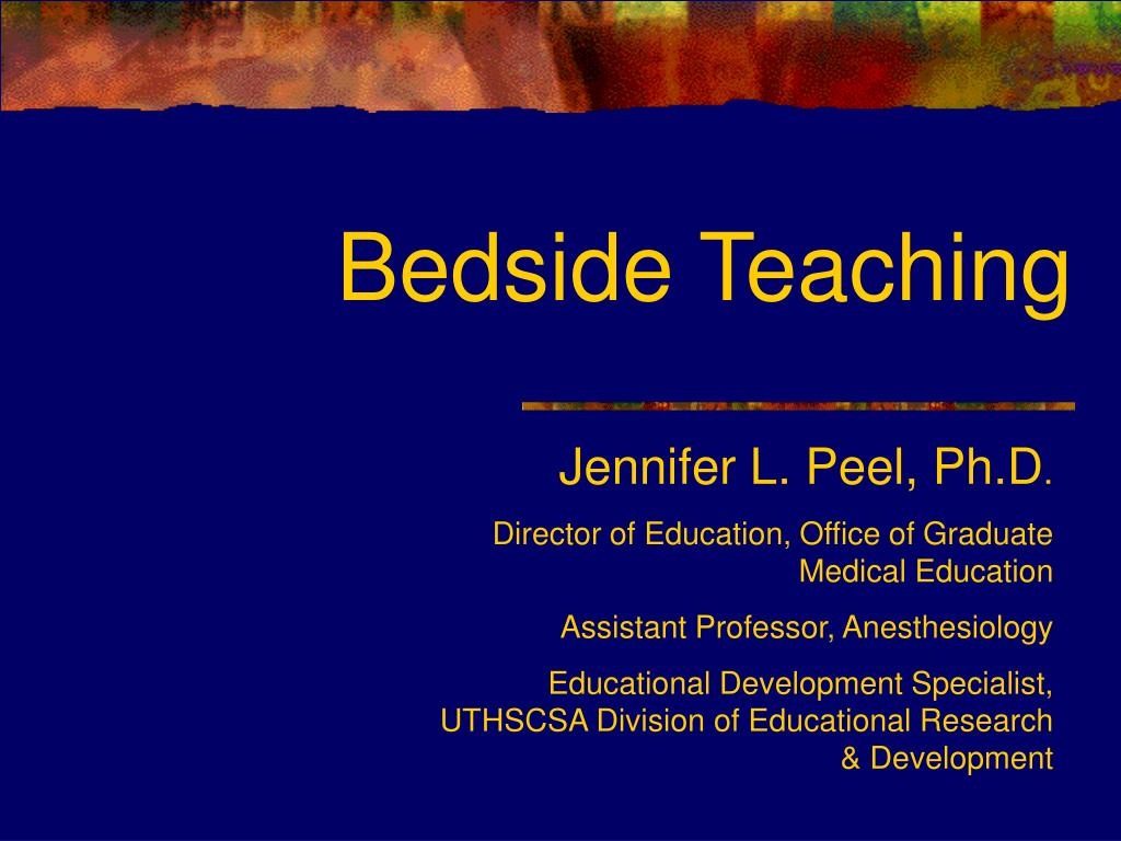 bedside teaching l.