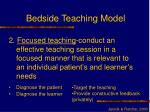 bedside teaching model20