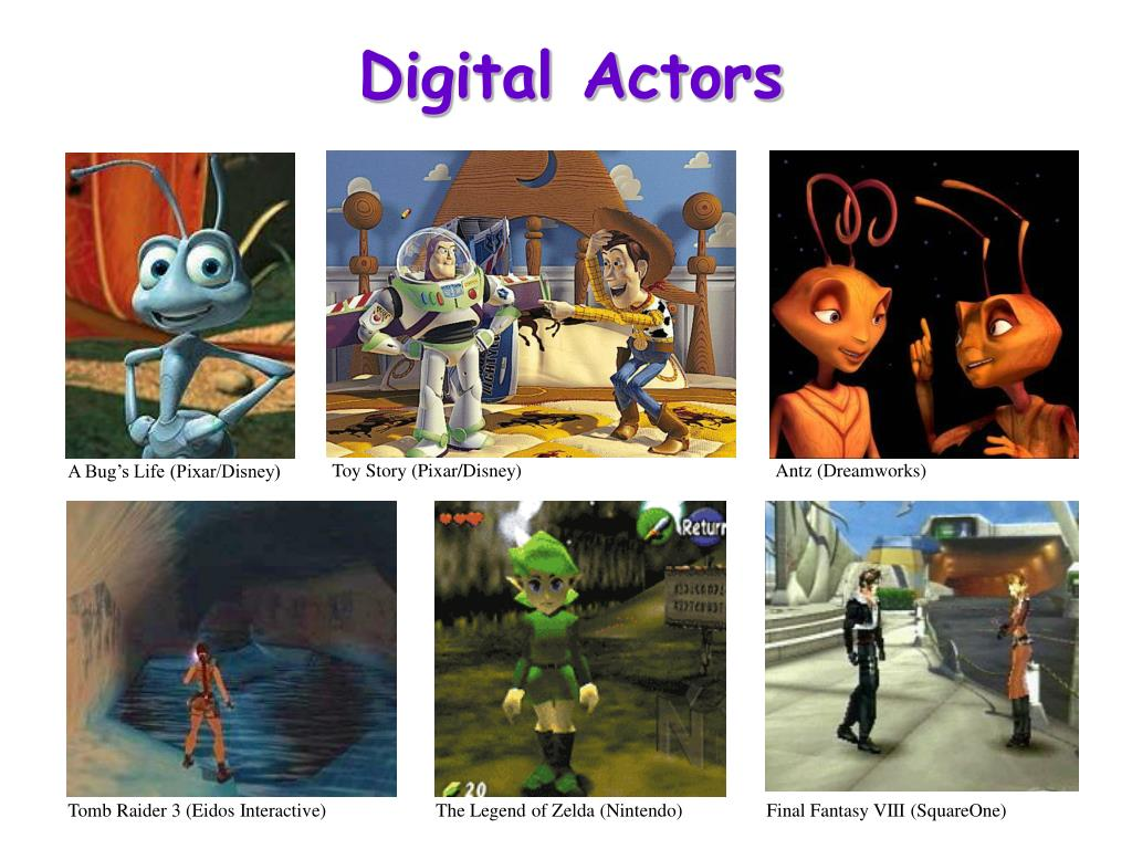 Digital Actors