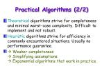 practical algorithms 2 2