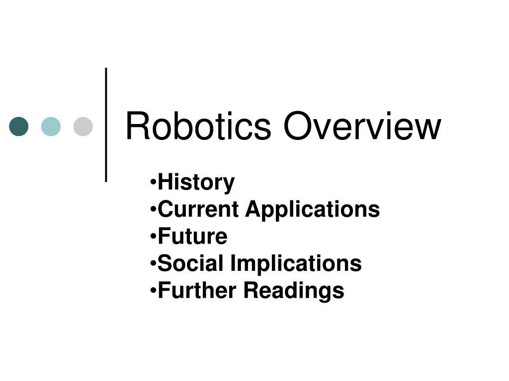 robotics overview l.