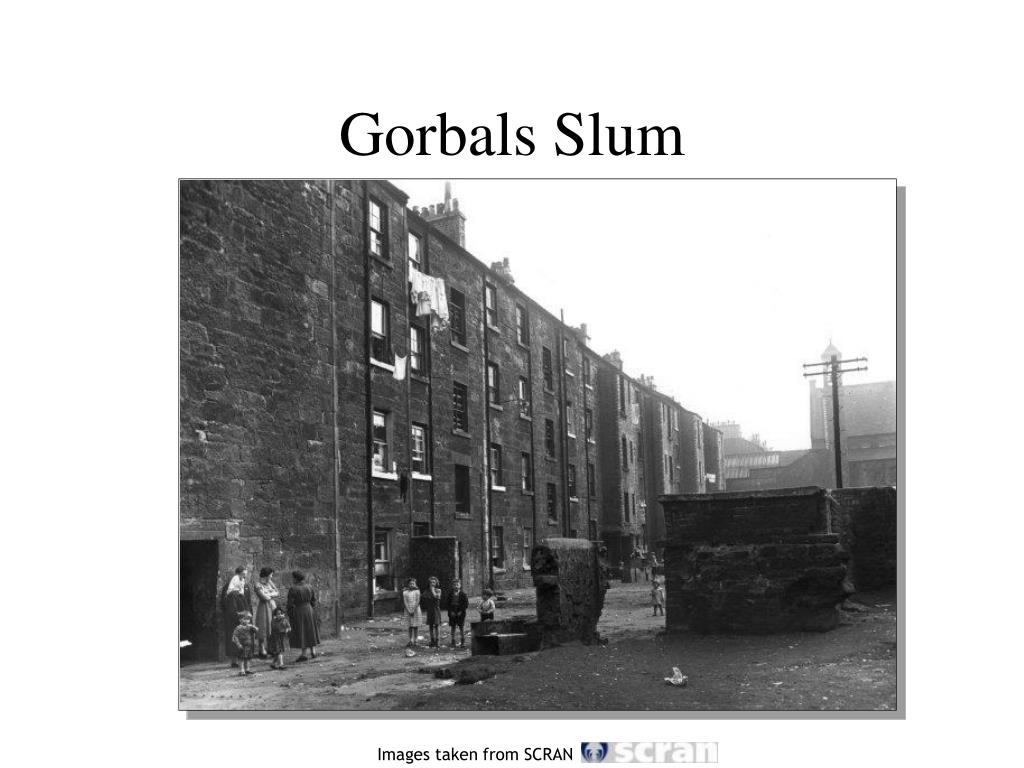 Gorbals Slum