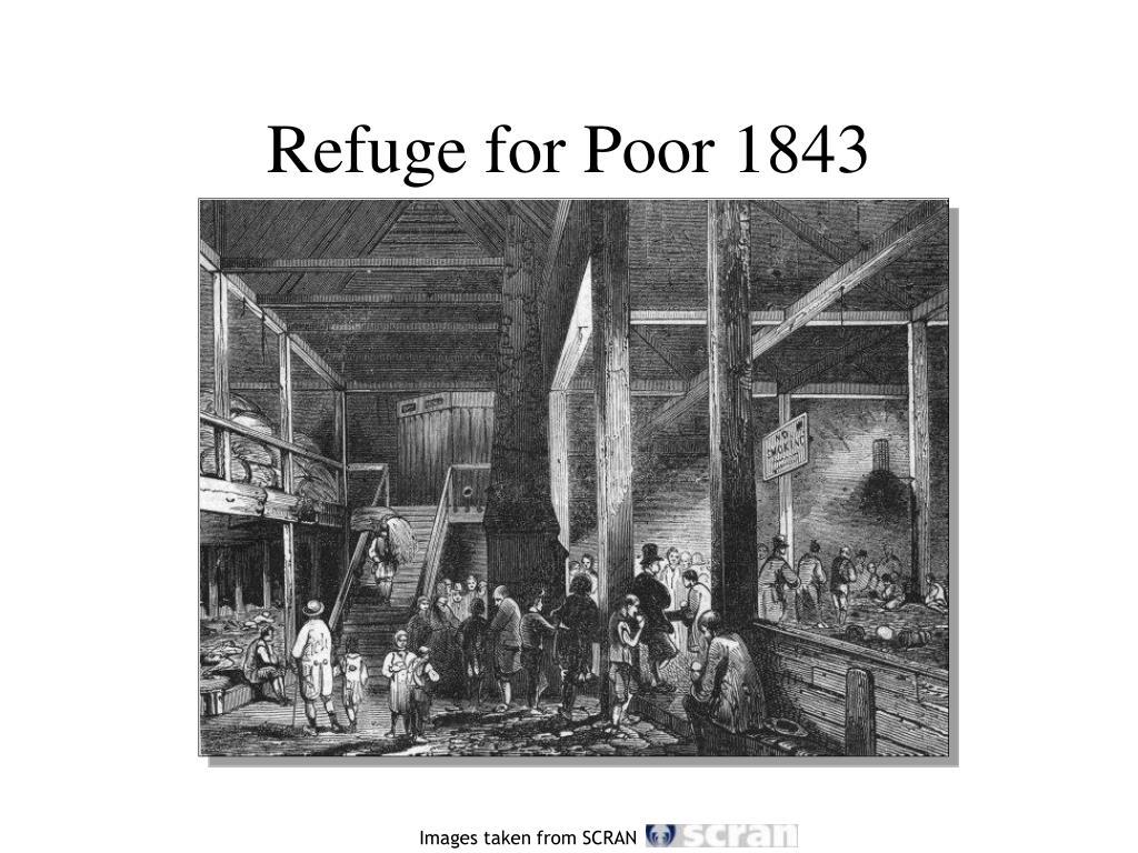 Refuge for Poor 1843