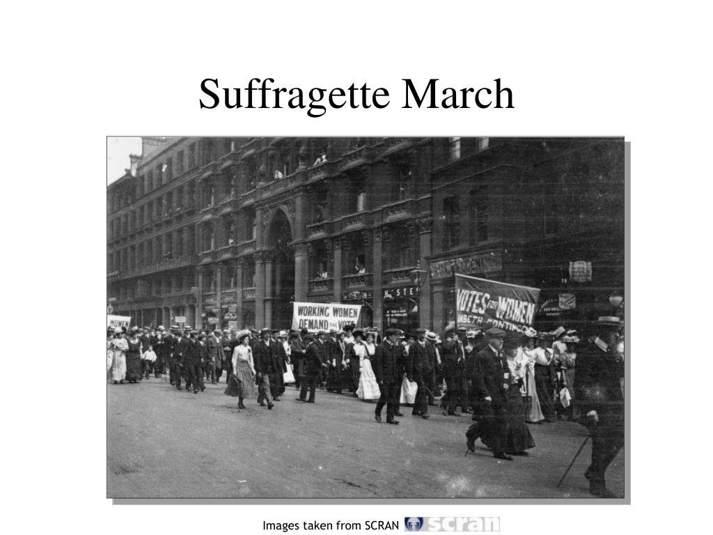 Suffragette March