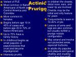 actinic prurigo