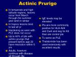 actinic prurigo112