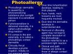 photoallergy