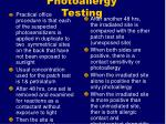 photoallergy testing