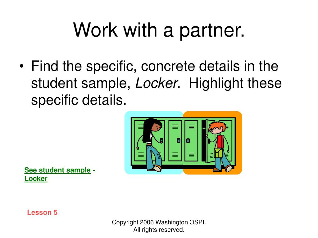 Work with a partner.