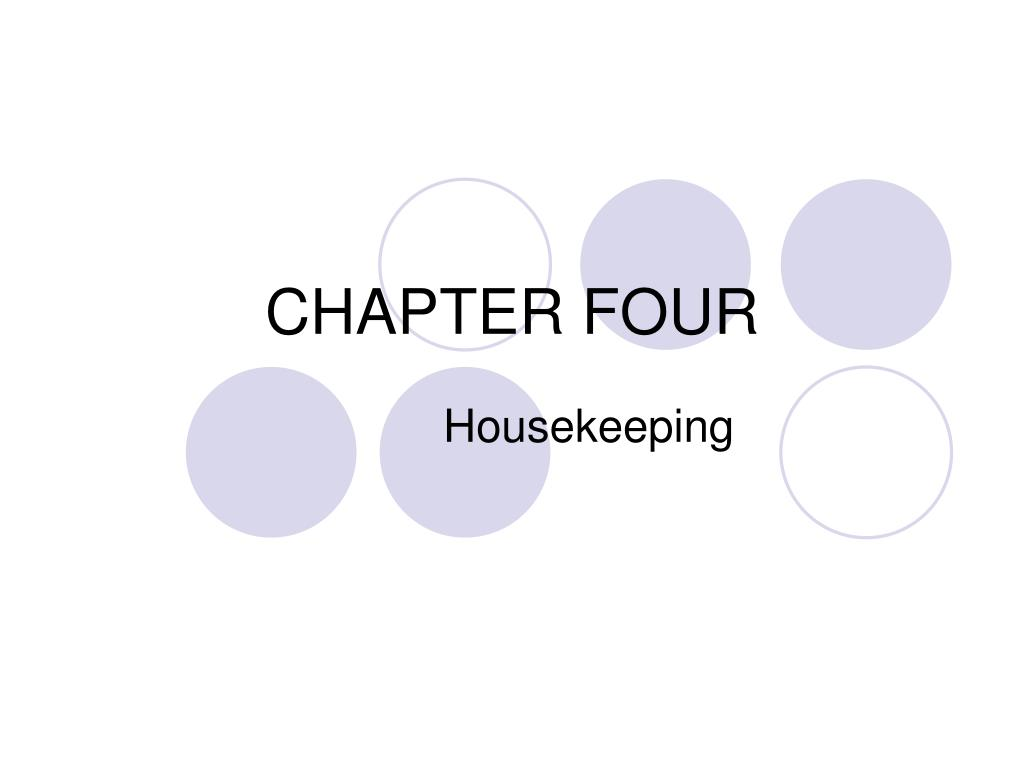 chapter four l.