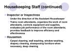 housekeeping staff continued5