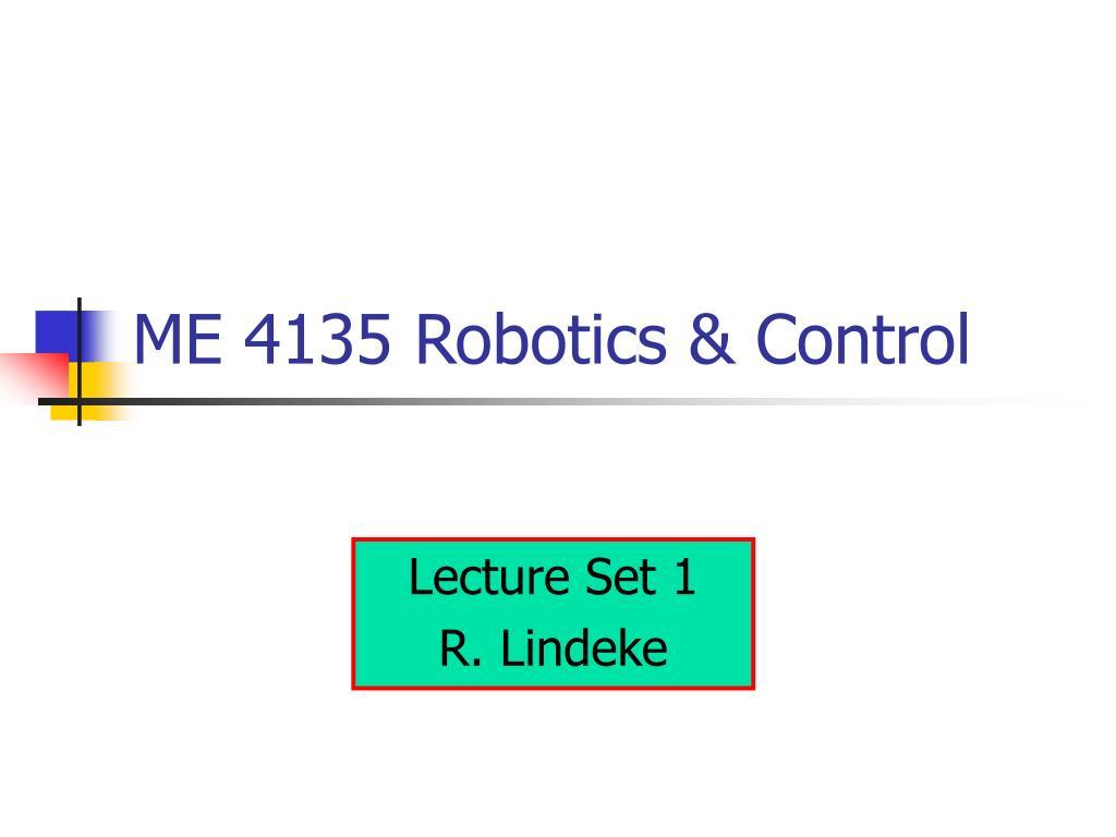 me 4135 robotics control l.