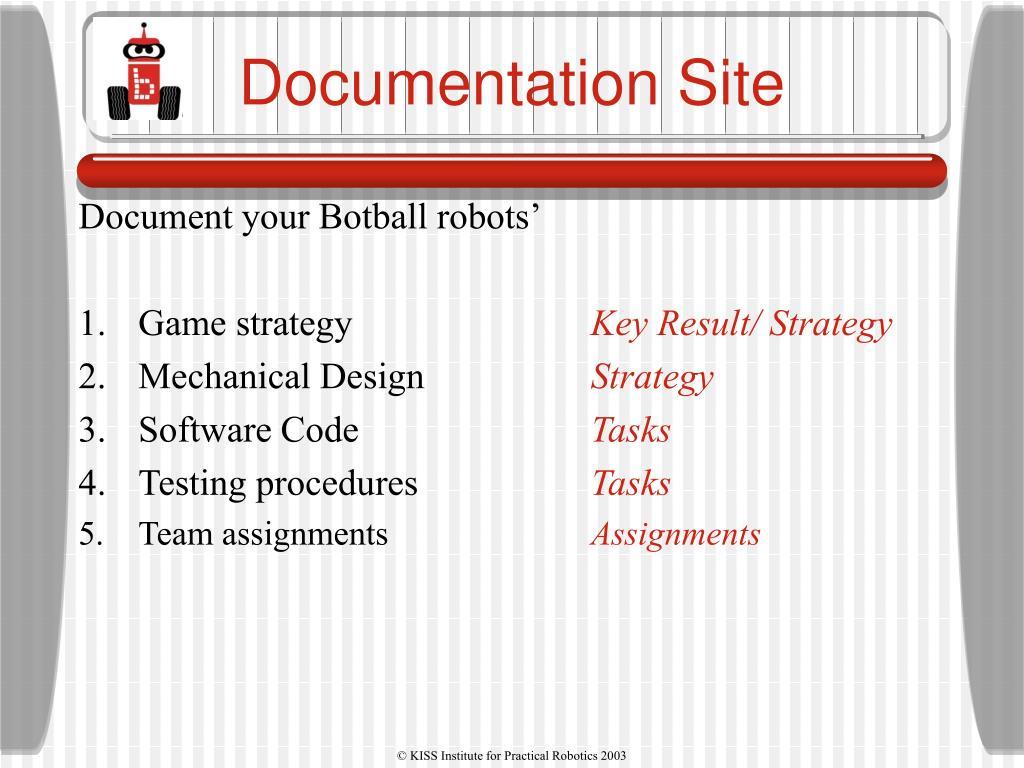 Documentation Site