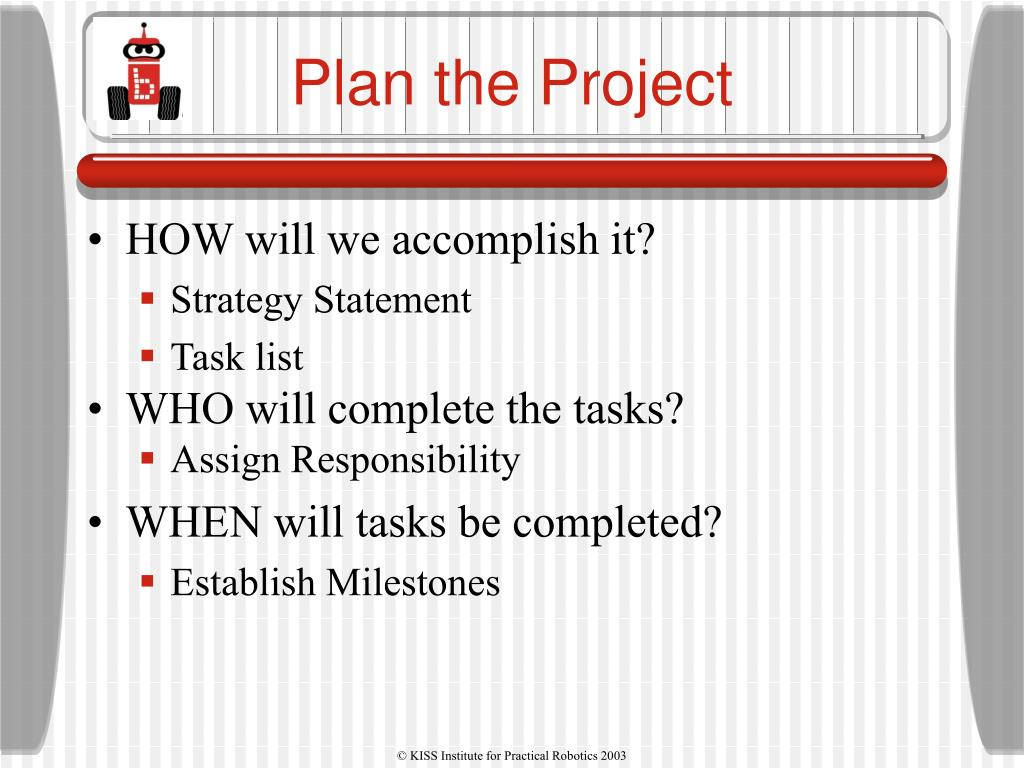 Plan the Project