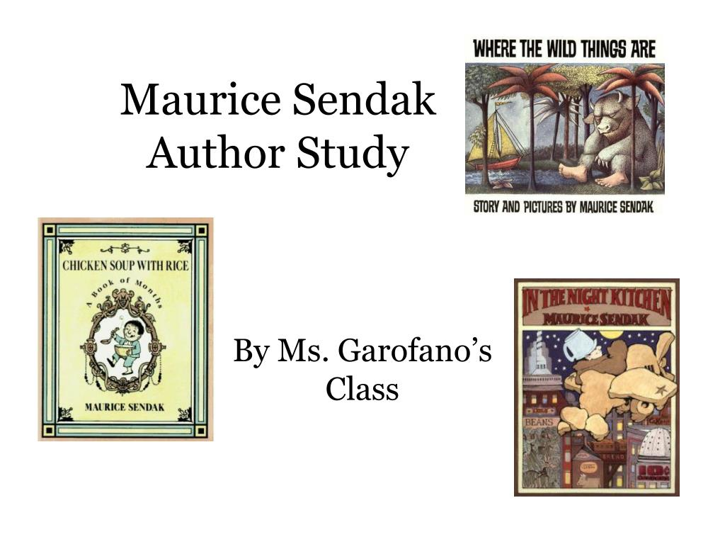 maurice sendak author study l.