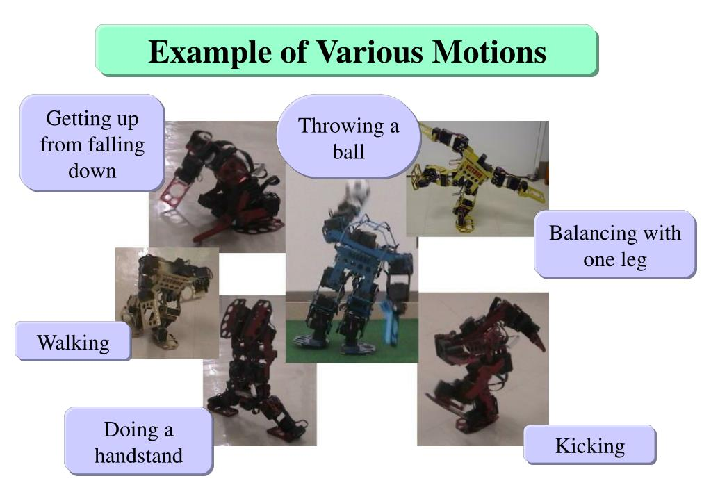 Example of Various Motions