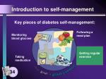 introduction to self management