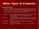 other types of fragments24