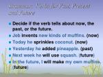 grammar verbs for past present and future45