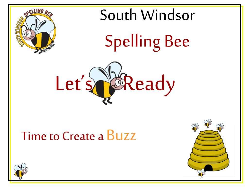 south windsor spelling bee l.