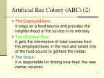 artificial bee colony abc 2